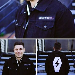 Brand New! TWL Limited Black Jean Jacket Patch Pin